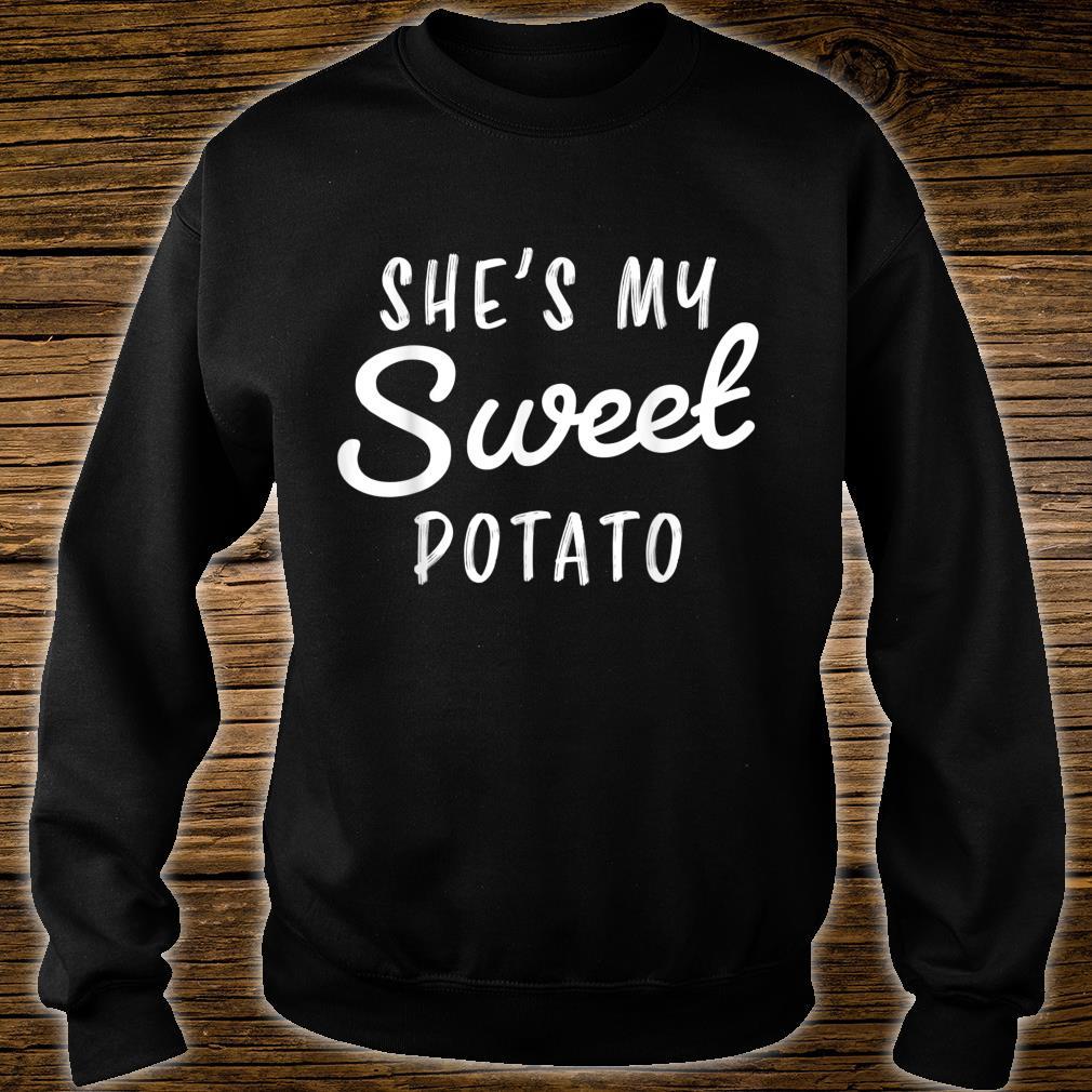 She's My Sweet Potato I Yam Couple Shirt sweater