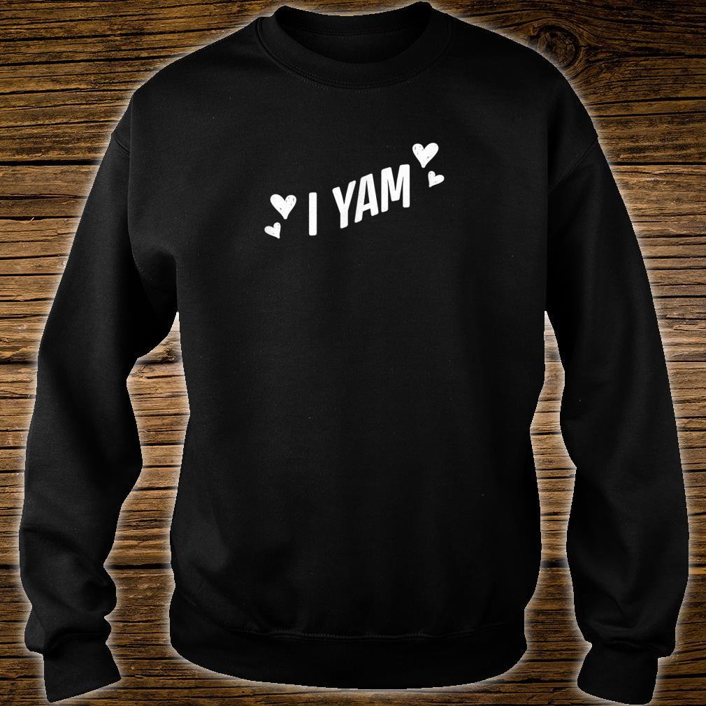 She's My Sweet Potato I Yam Thanksgiving Couples Shirt sweater
