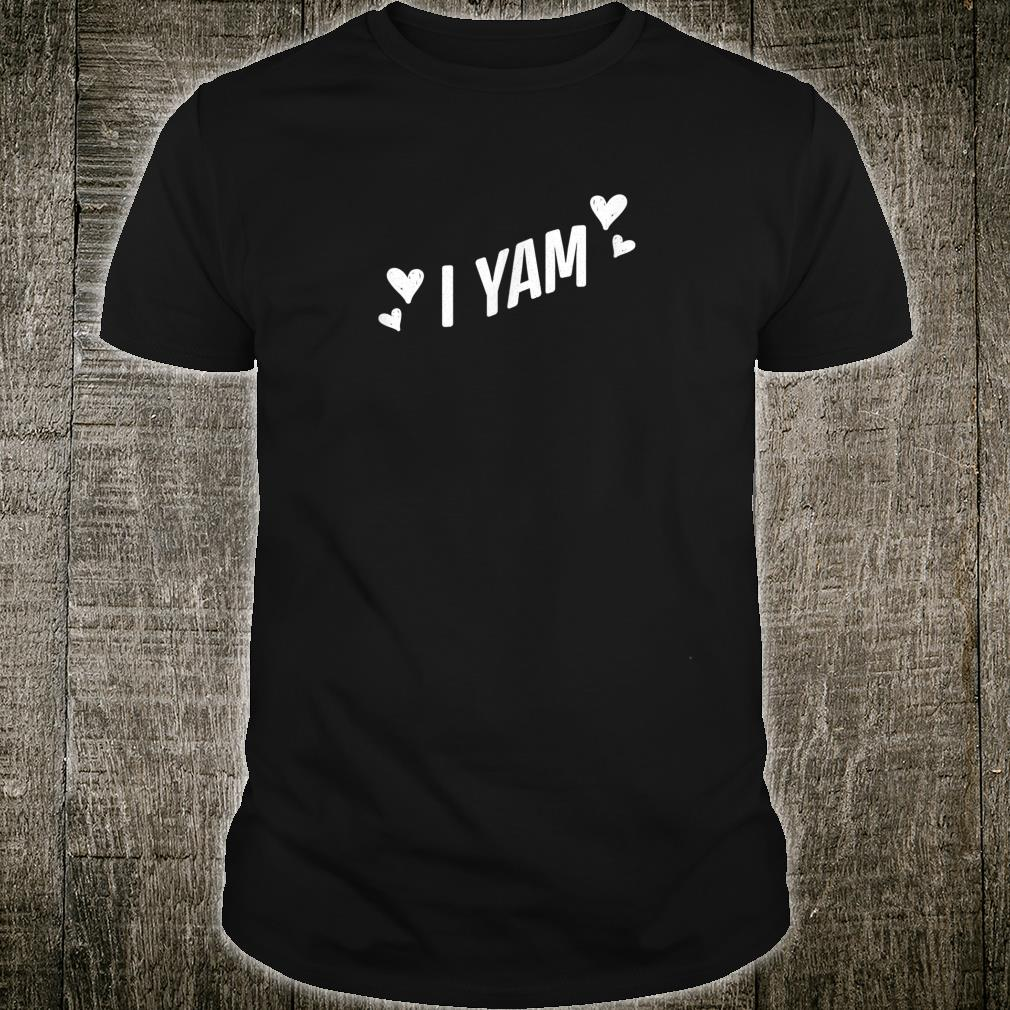 She's My Sweet Potato I Yam Thanksgiving Couples Shirt