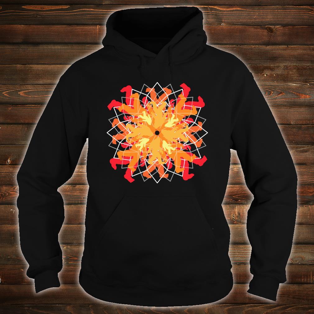 Simple Bigfoot Mandala Sweet Yoga Shirt hoodie