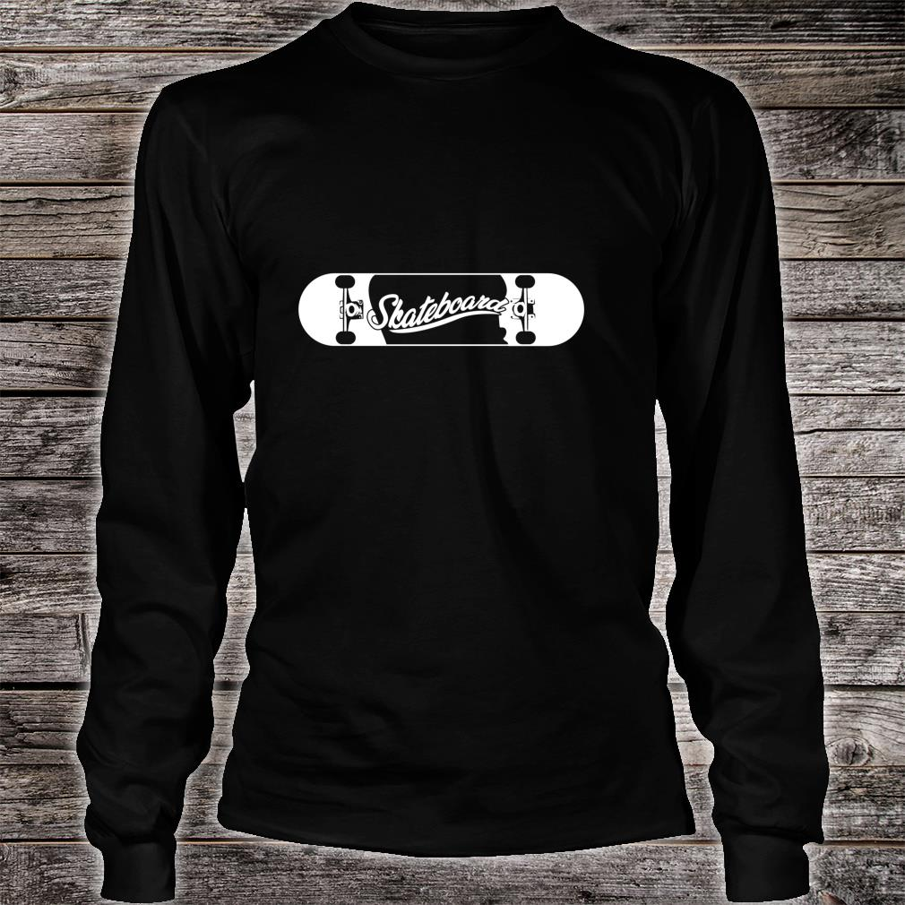 Skate Sports Skateboard Skating Skater Skateboarder Shirt long sleeved