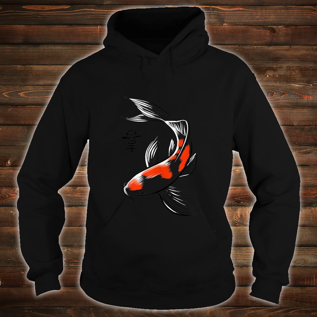 Sketch Japanese carp Shirt hoodie
