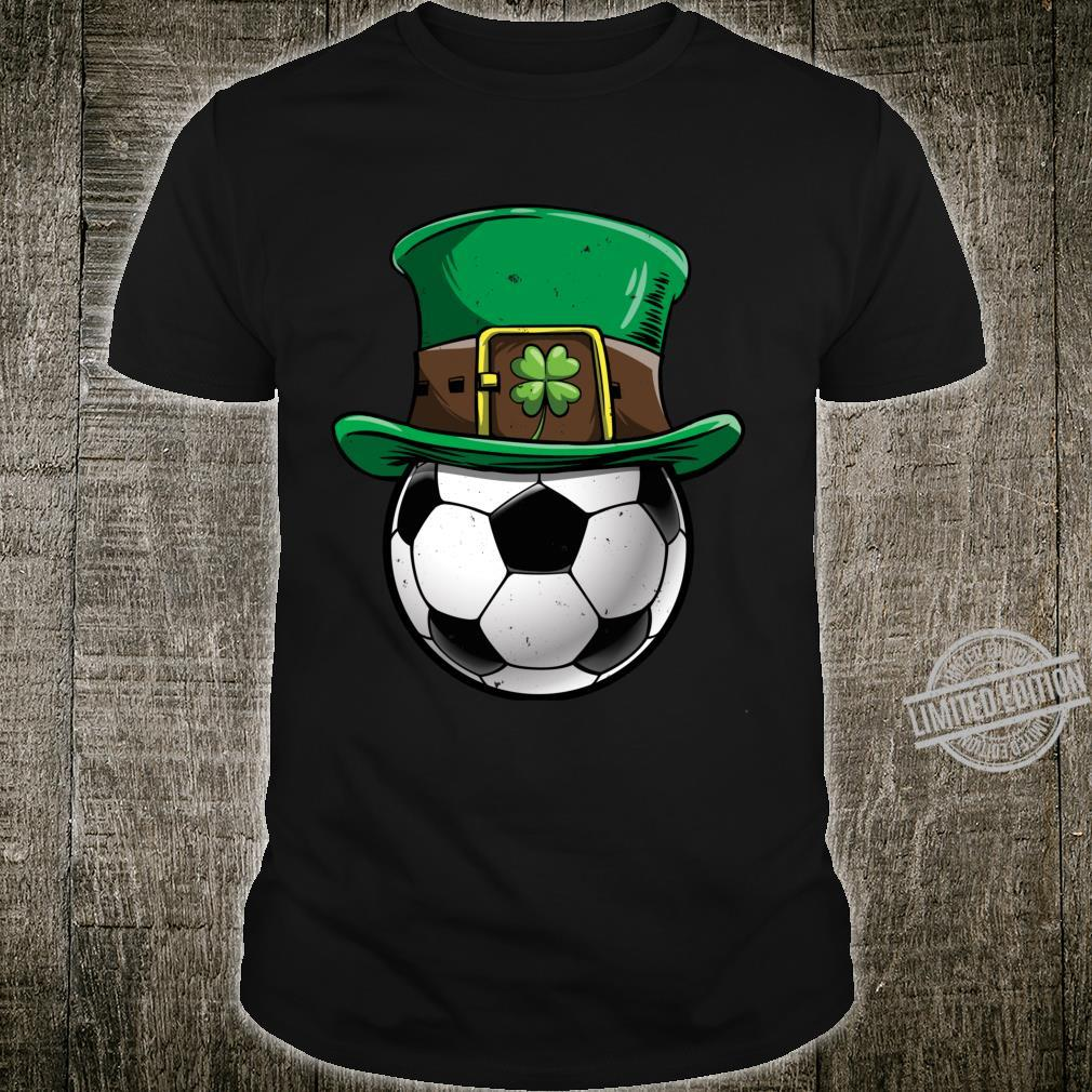 Soccer St Patricks Day Ball Leprechaun Sports Shirt