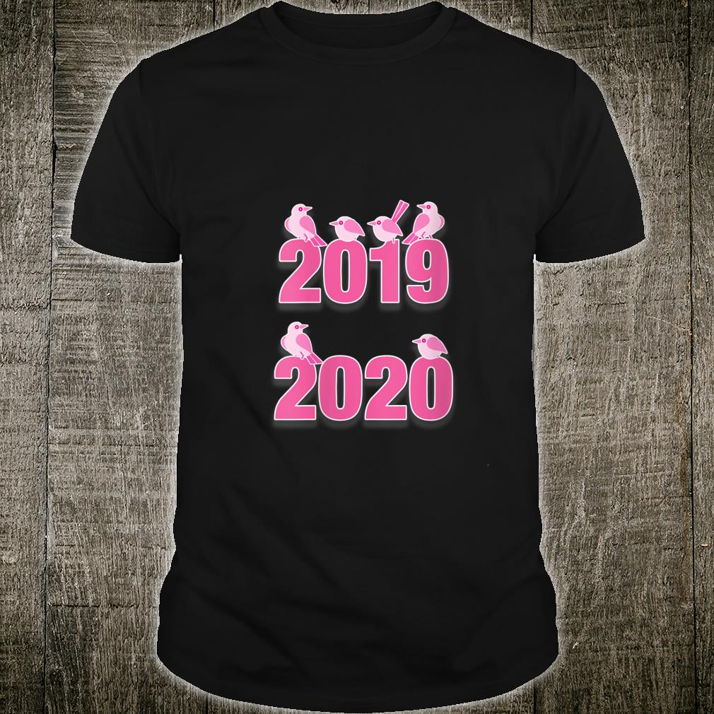 Social Distancing Bird 2020 Pink Shirt