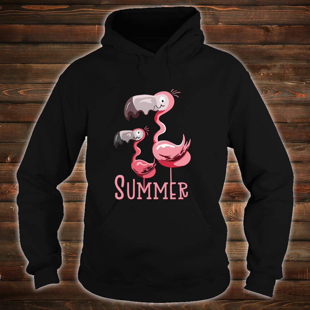 Sommer Flamingos I Vogel Fund Design für Flamingo Fans Shirt hoodie