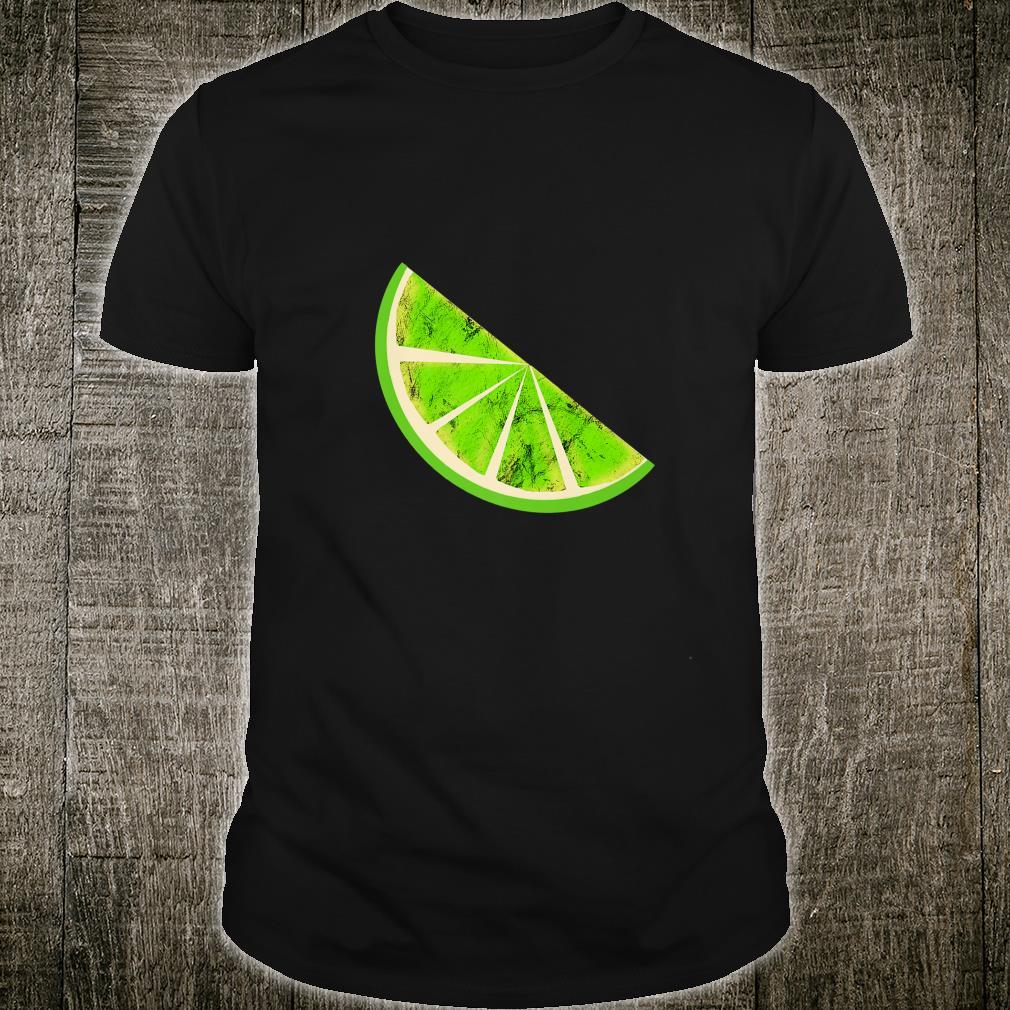 Sour Lime Slice Fruits Juice Lemonade Healthy Lemon Shirt