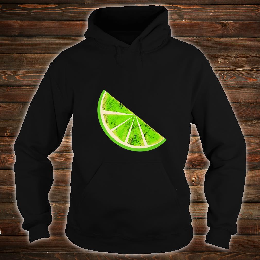 Sour Lime Slice Fruits Juice Lemonade Healthy Lemon Shirt hoodie