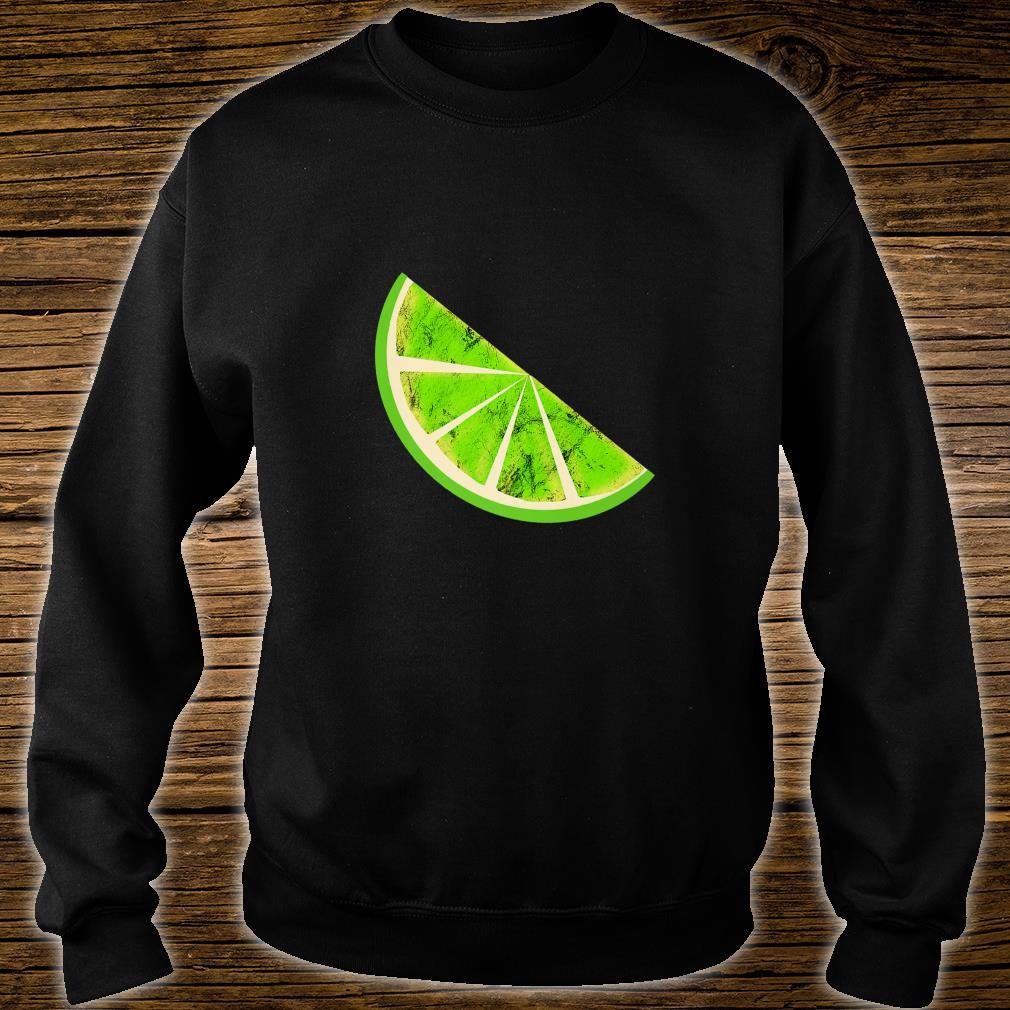 Sour Lime Slice Fruits Juice Lemonade Healthy Lemon Shirt sweater