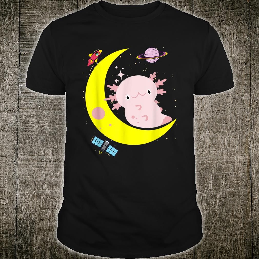Space Axolotl Kawaii Pastel Goth Japan Anime Shirt