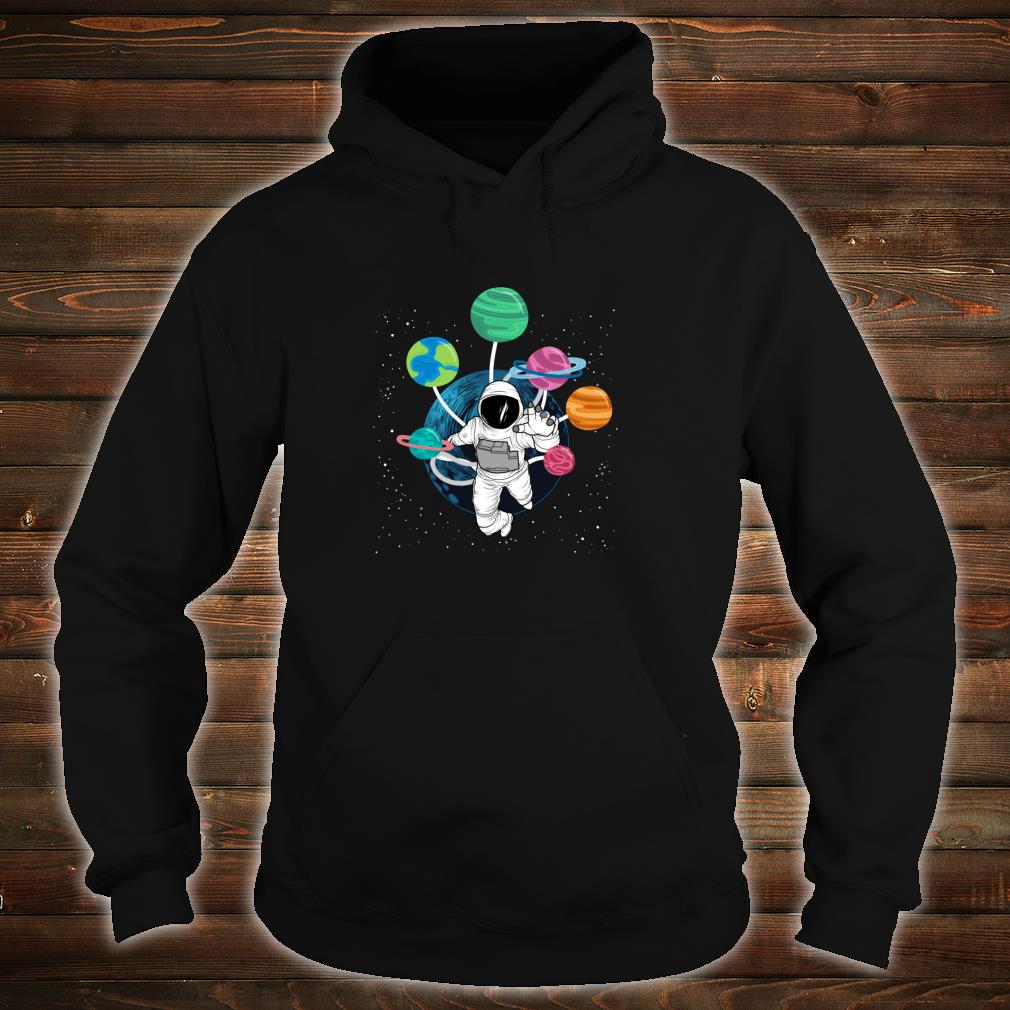 Space Boys Planets Astronaut Science Solar System Shirt hoodie