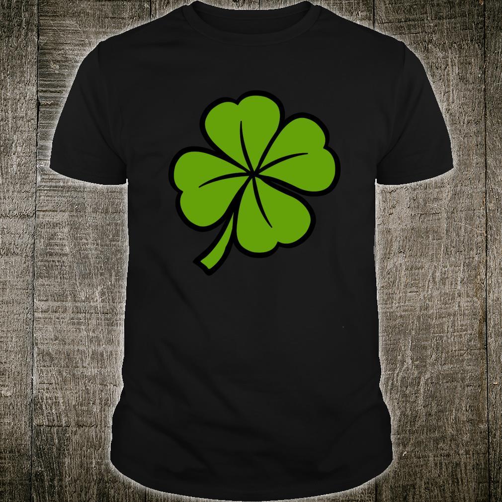 St Patrick's Shamrock Luck & Cute Green Leaf Clover Shirt