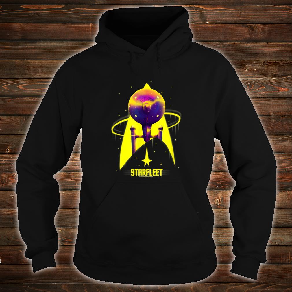 Star Trek The Original Series Starfleet Yellow With Purple Shirt hoodie