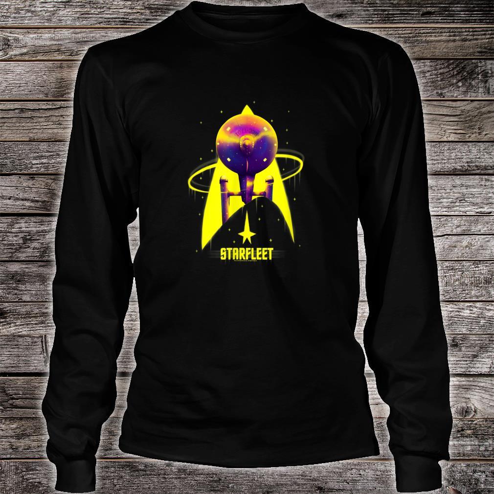Star Trek The Original Series Starfleet Yellow With Purple Shirt long sleeved