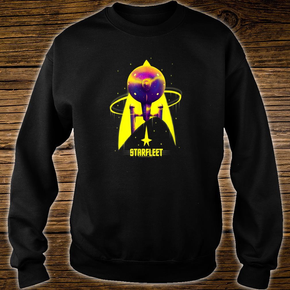Star Trek The Original Series Starfleet Yellow With Purple Shirt sweater