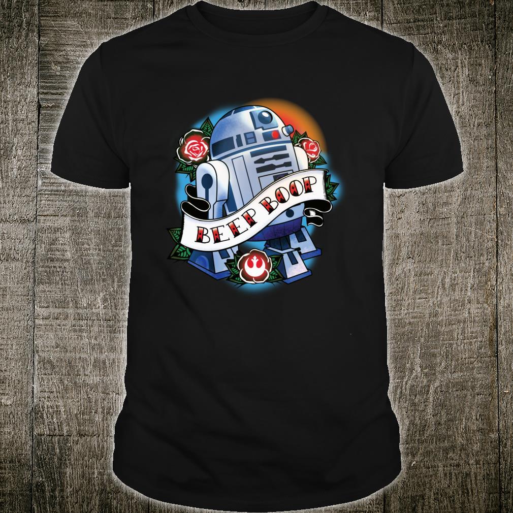 Star Wars R2D2 Tattoo Art Shirt