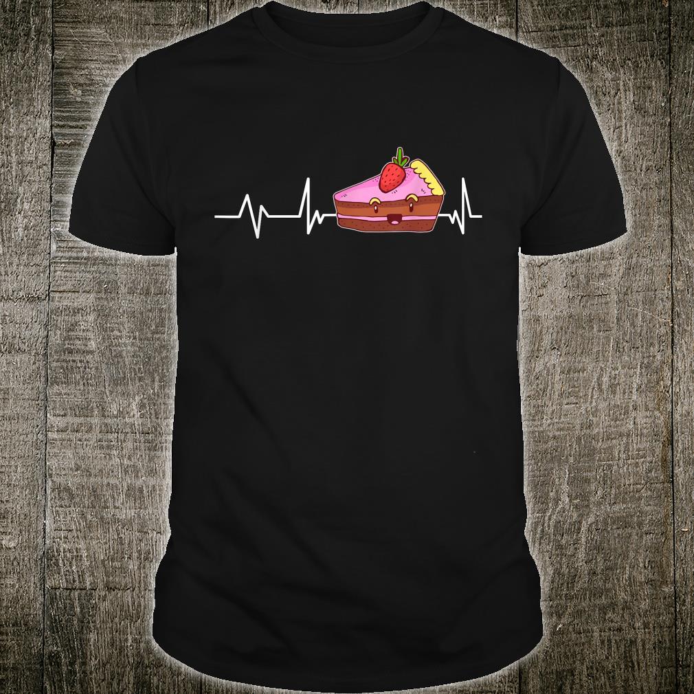 Strawberry Cake Heartbeat Strawberry Cake Shirt