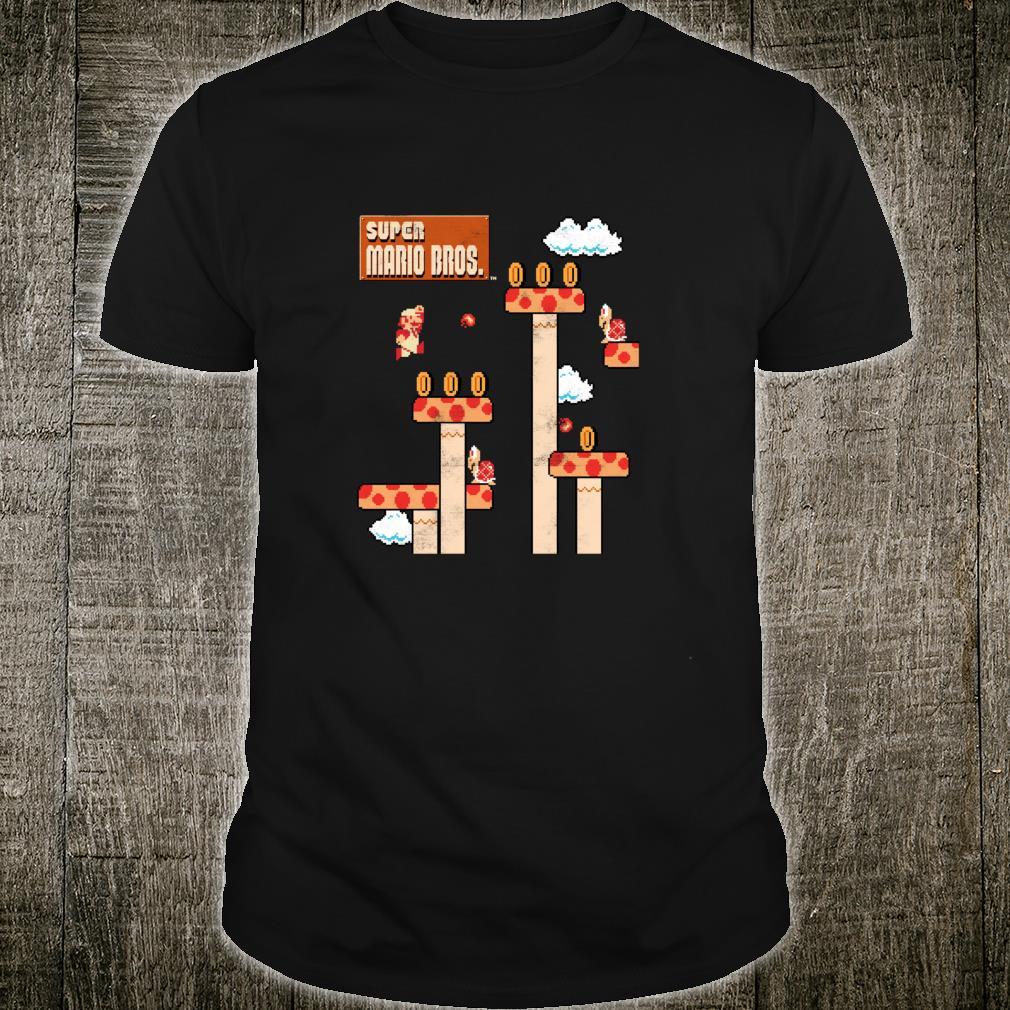 Super Mario Bros Retro Fire Away Shirt