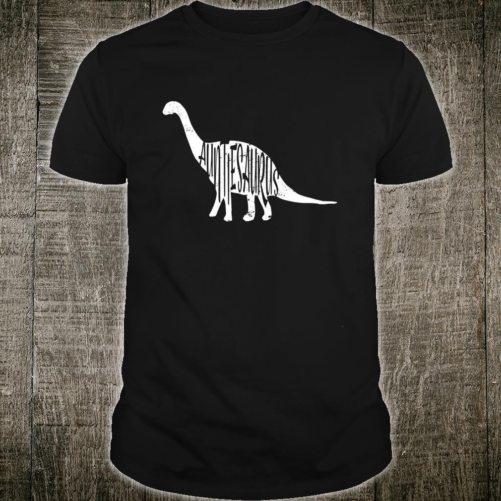 Tante Dinosaurier Tante Geschenk Shirt