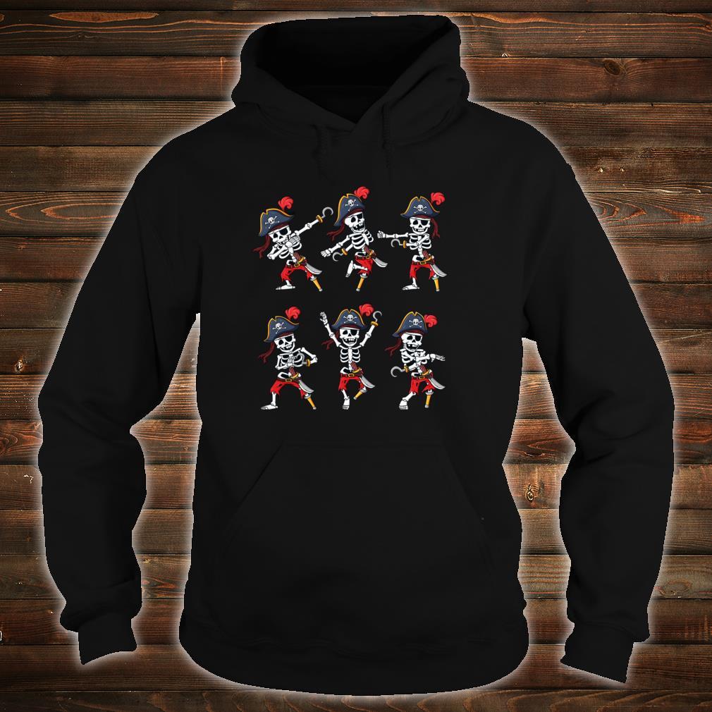 Tanzende HalloweenPiraten SkelettPiraten Jungen Mädchen Shirt hoodie