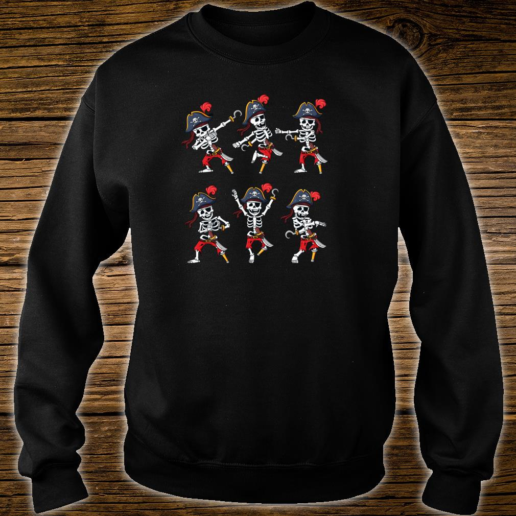 Tanzende HalloweenPiraten SkelettPiraten Jungen Mädchen Shirt sweater
