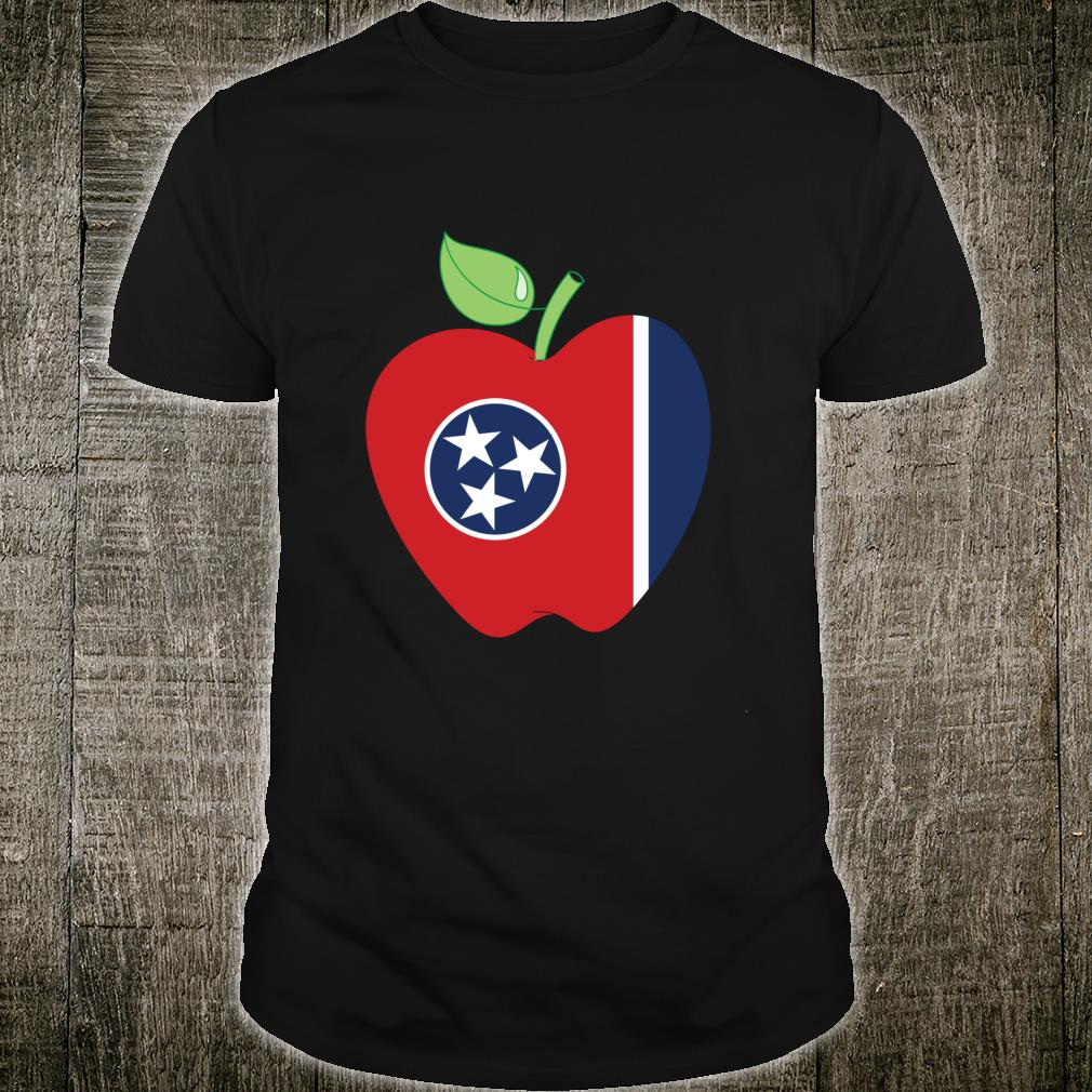 Tennessee Teacher Apple For Teacher National Day 2021 Shirt