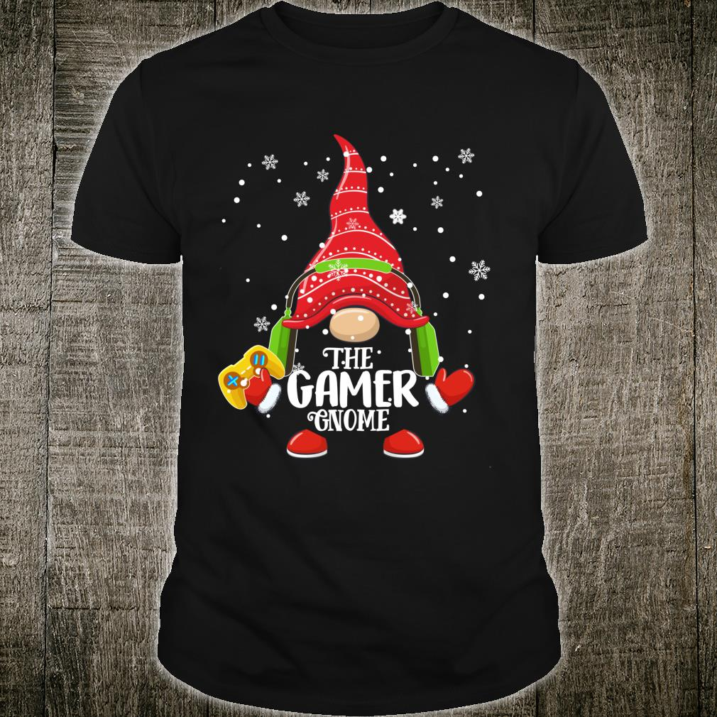 Th Video Gamer Gnome Christmas Pajamas Costume Xmas Shirt