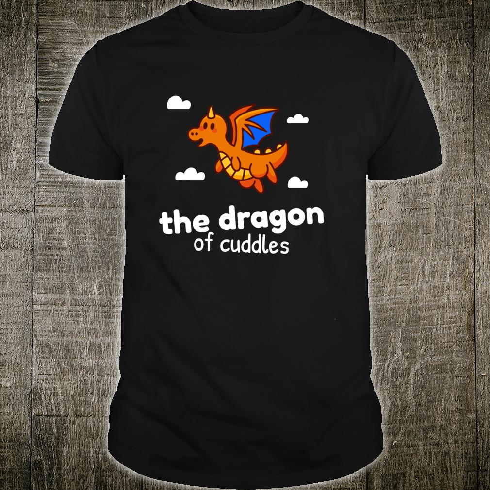 The Dragon of Cuddles Cute Bed Time Shirt