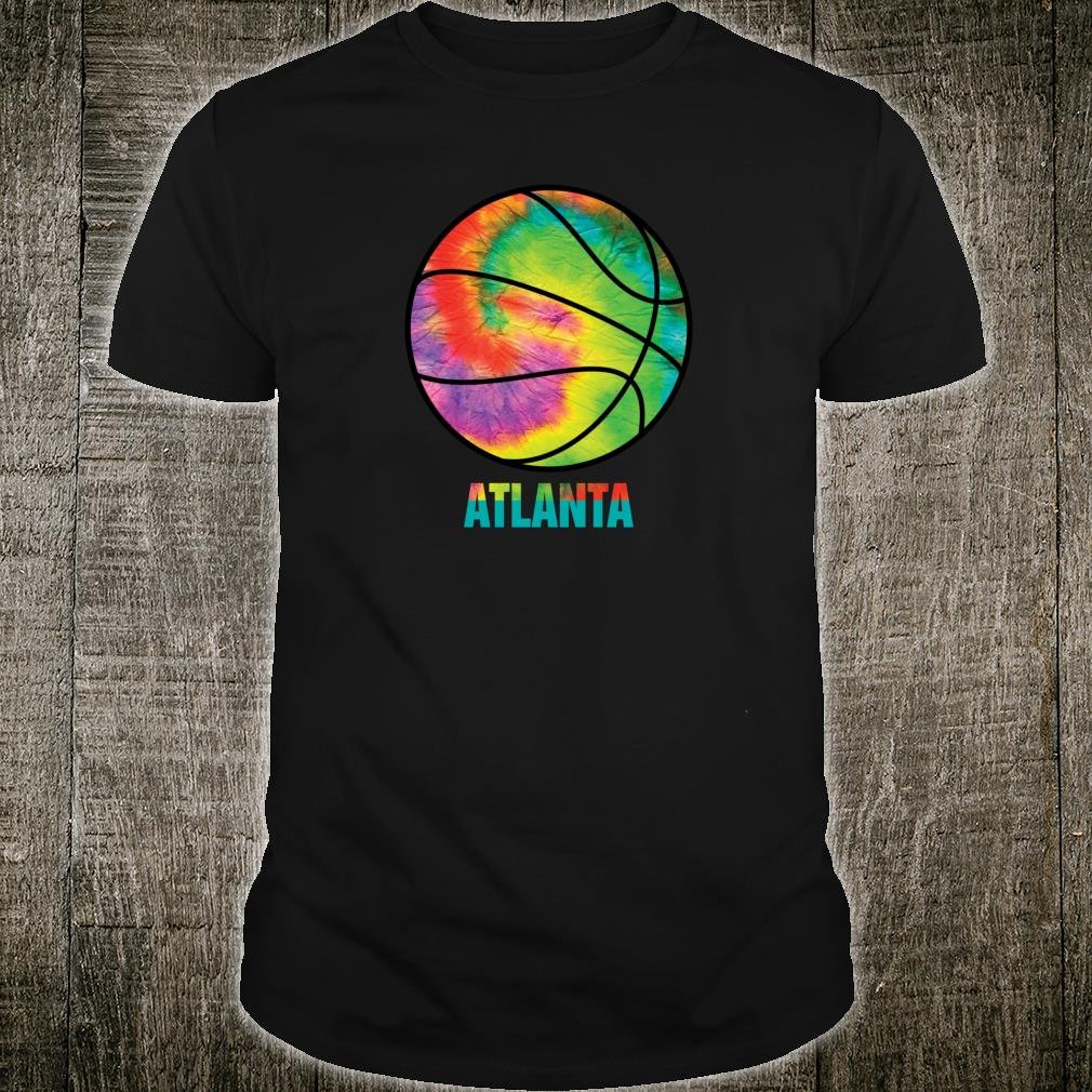 Tie Dye Atlanta Basketball Retro Vintage Classic Old Jersey Shirt