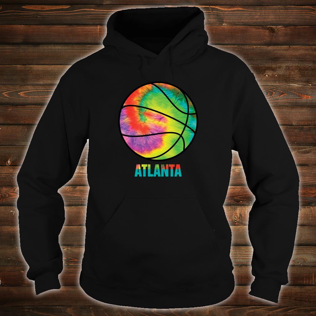 Tie Dye Atlanta Basketball Retro Vintage Classic Old Jersey Shirt hoodie