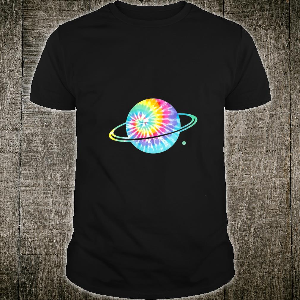 Tie dye Planet Saturn Shirt