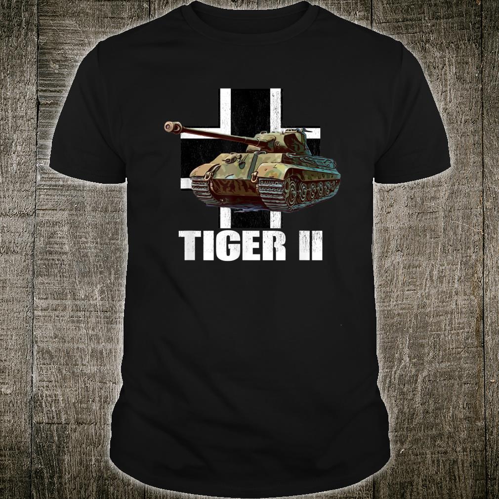 Tiger II German Heavy Tank WW2 Panzer Armored Shirt