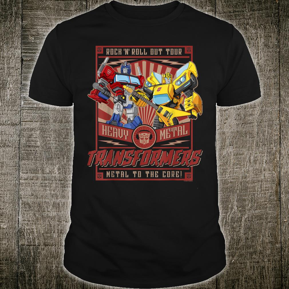 Transformers Rock N Roll Out Tour Heavy Metal Poster Shirt