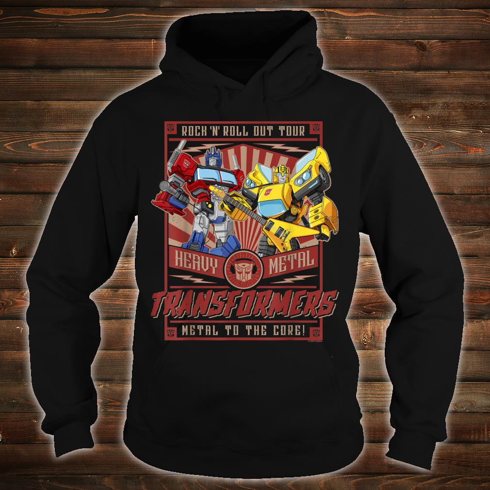 Transformers Rock N Roll Out Tour Heavy Metal Poster Shirt hoodie