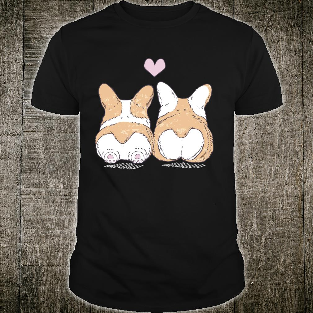 Trendy Corgi Cuddle And Love Poster Shirt