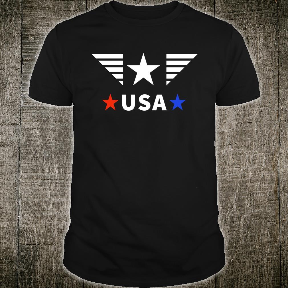 USA Patriotic Casual Shirt
