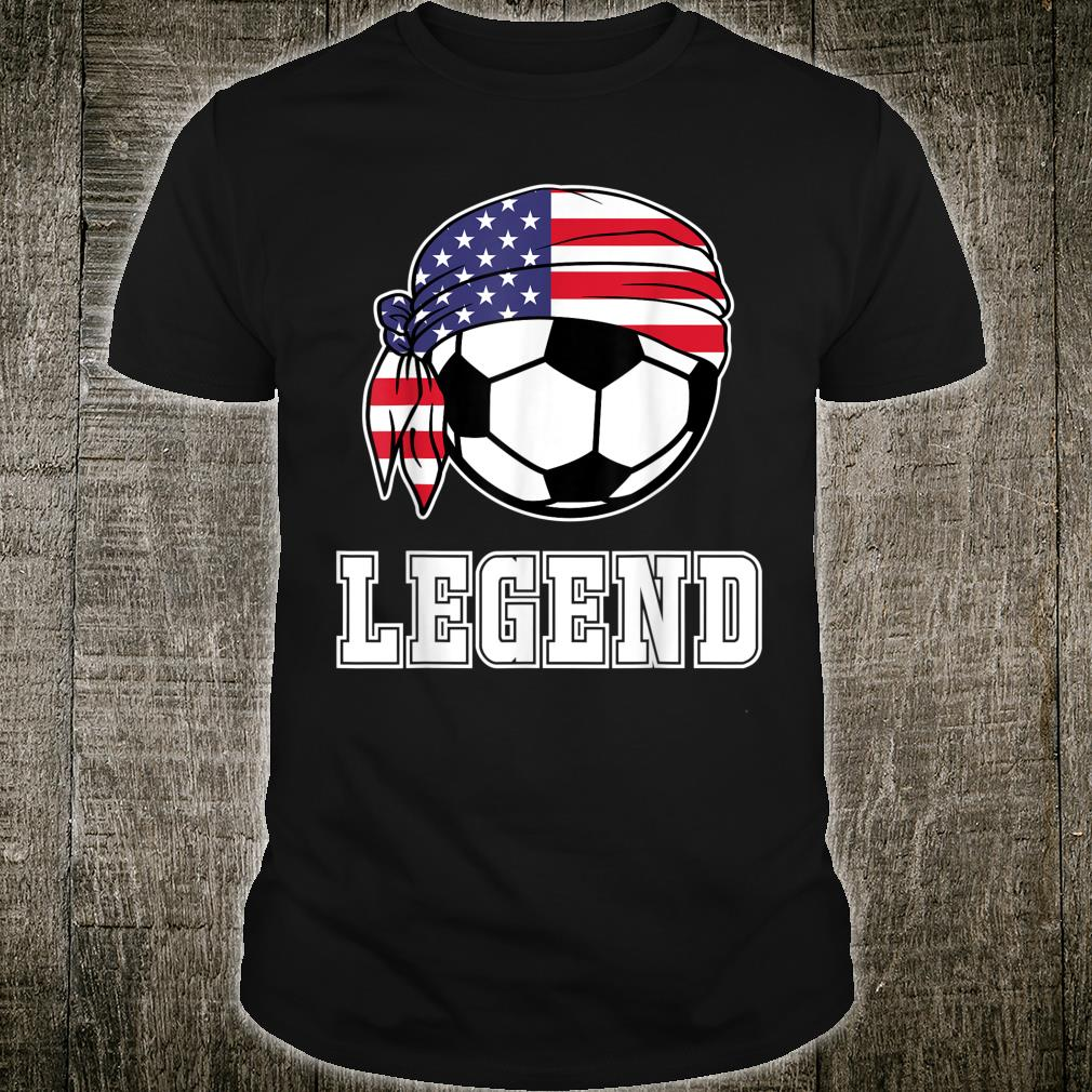 USA Soccer Legend Teammate Soccer Player Shirt