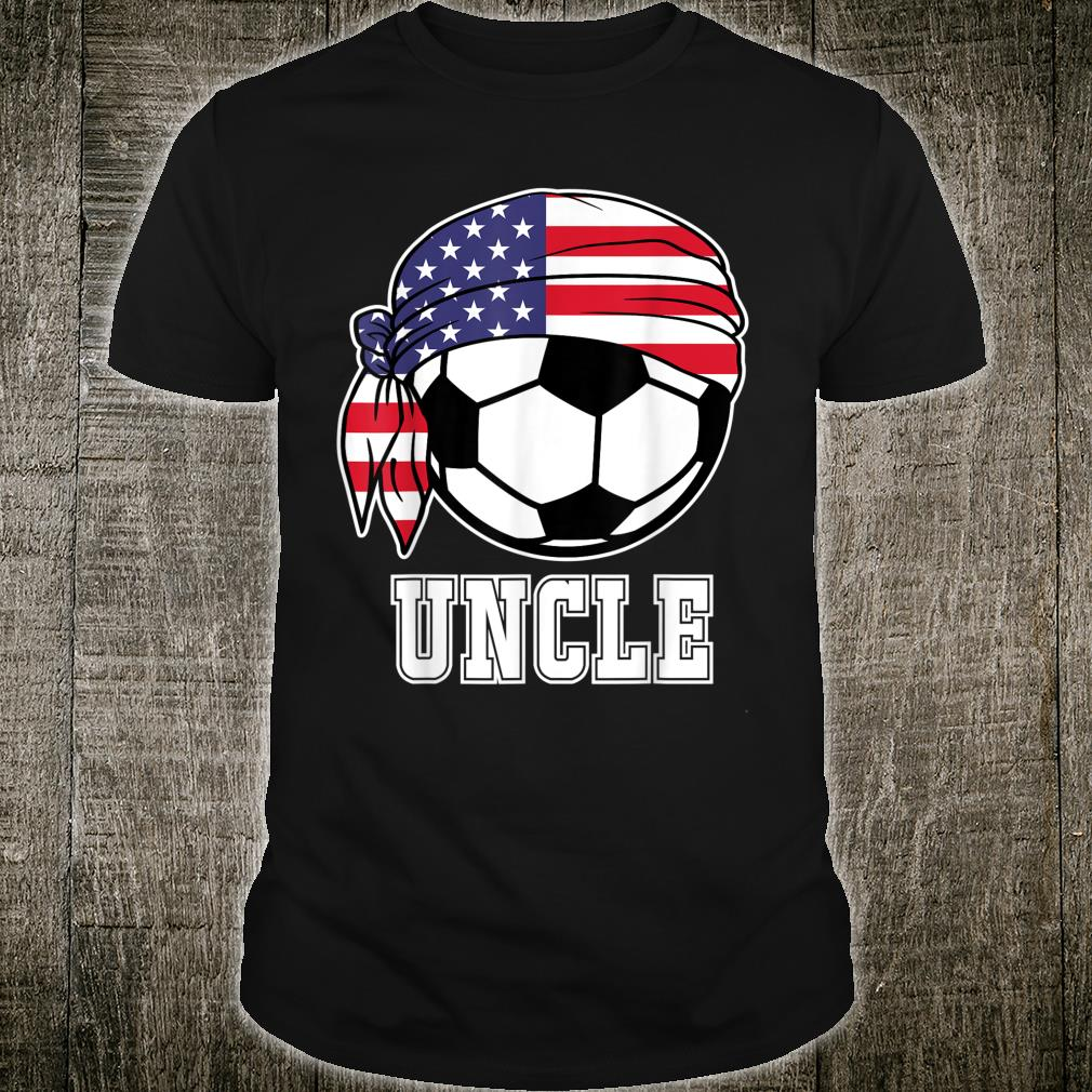 USA Soccer Uncle Soccer Player Shirt