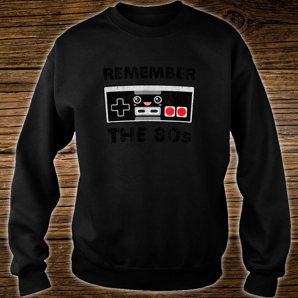Vintage Eighties Retro Gamer Love Kawaiis Shirt sweater