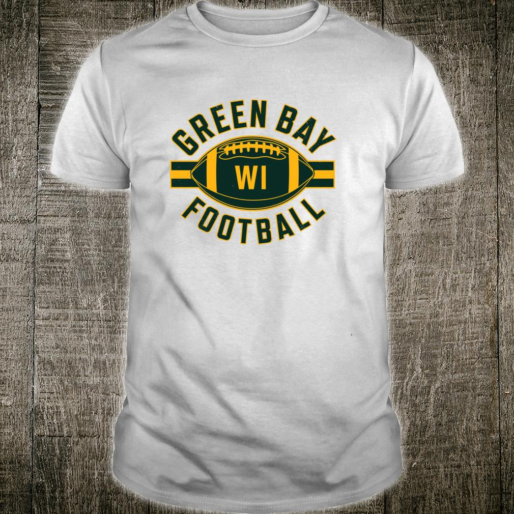 Vintage Green BayFootball Wisconsin Retro Distressed Shirt