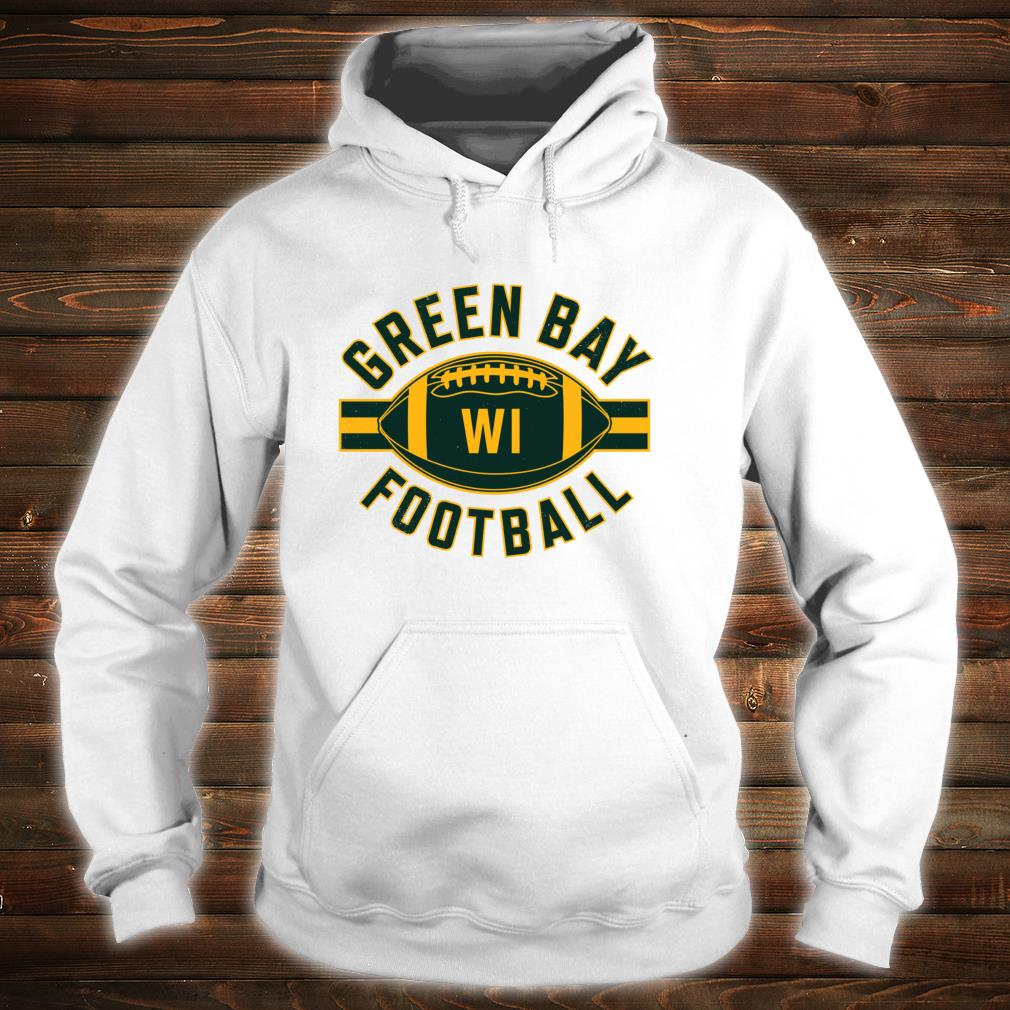 Vintage Green BayFootball Wisconsin Retro Distressed Shirt hoodie