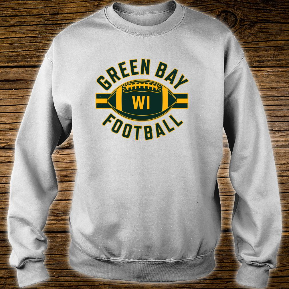 Vintage Green BayFootball Wisconsin Retro Distressed Shirt sweater