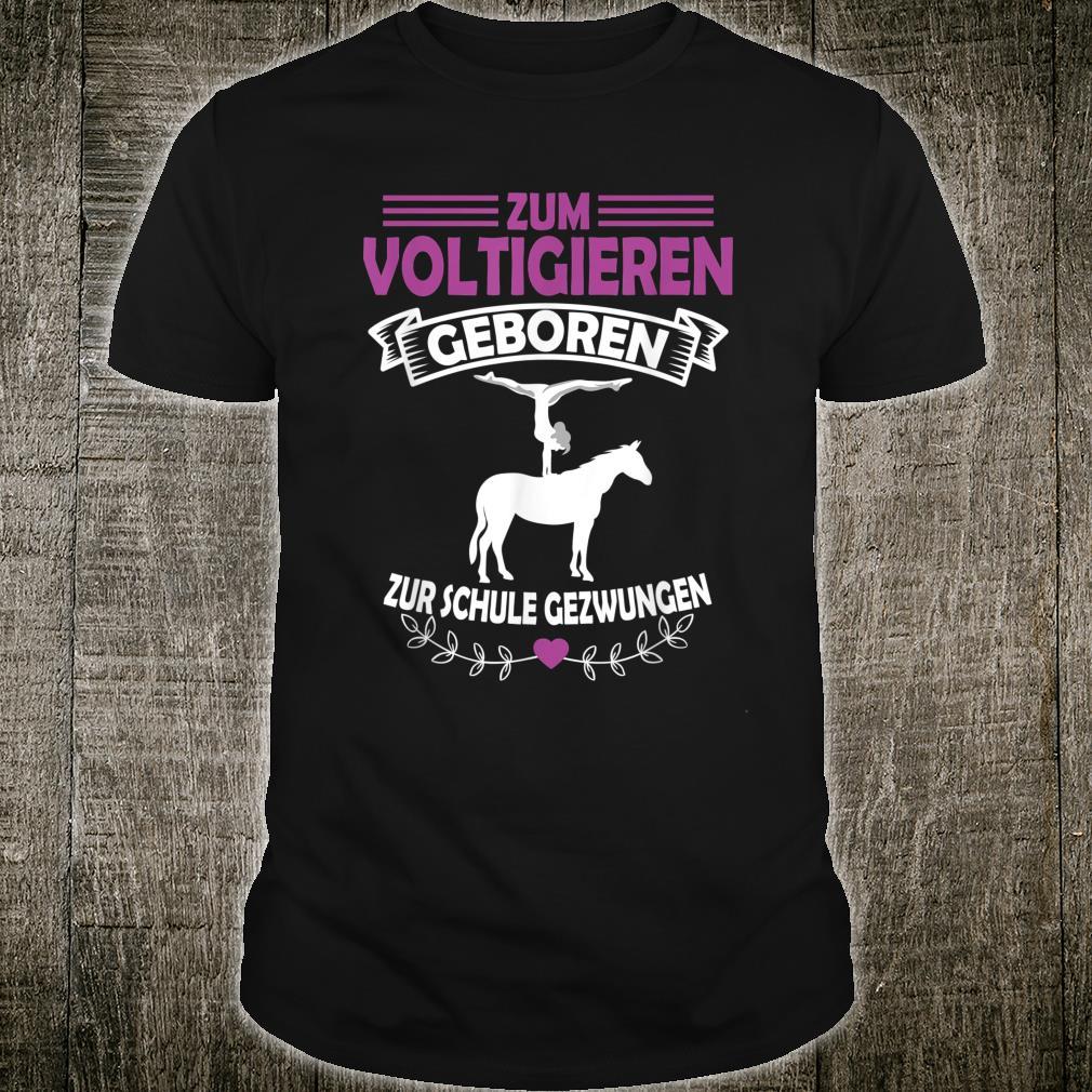 Voltigieren I Volti Spruch Reiter & Pferdefreunde Geschenk Shirt