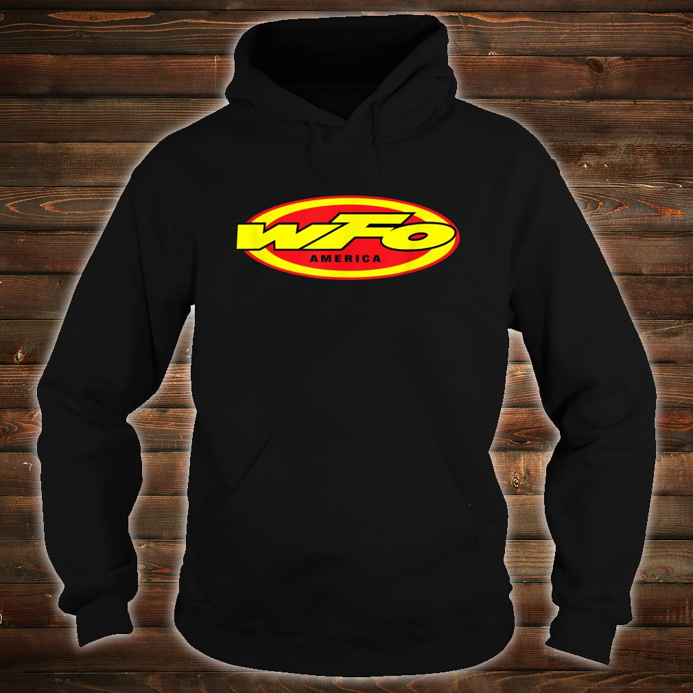 WFO Factory Motocross Racer Dirt Bike Rider America Shirt hoodie