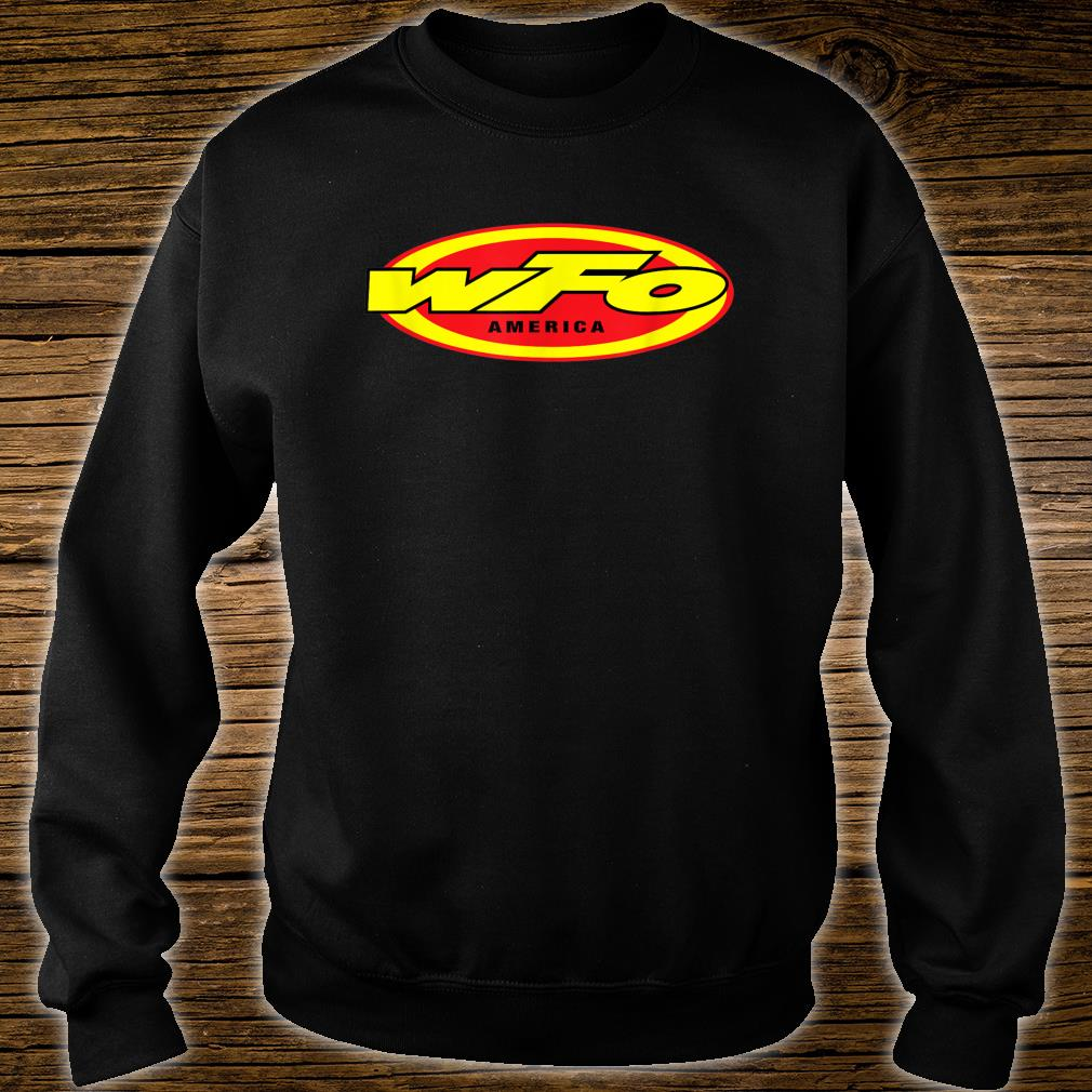 WFO Factory Motocross Racer Dirt Bike Rider America Shirt sweater