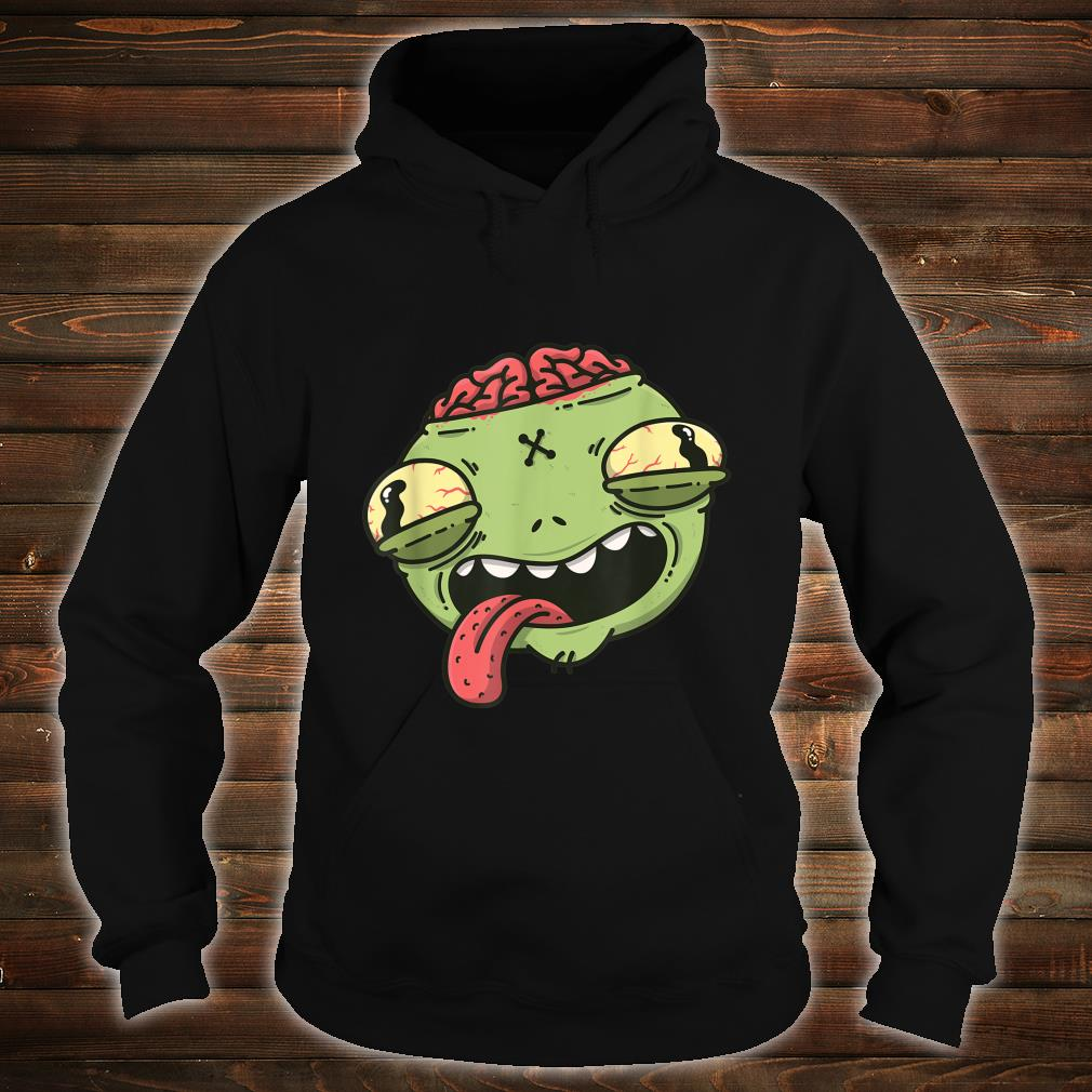 Wacky Green Alien Head Halloween Shirt hoodie