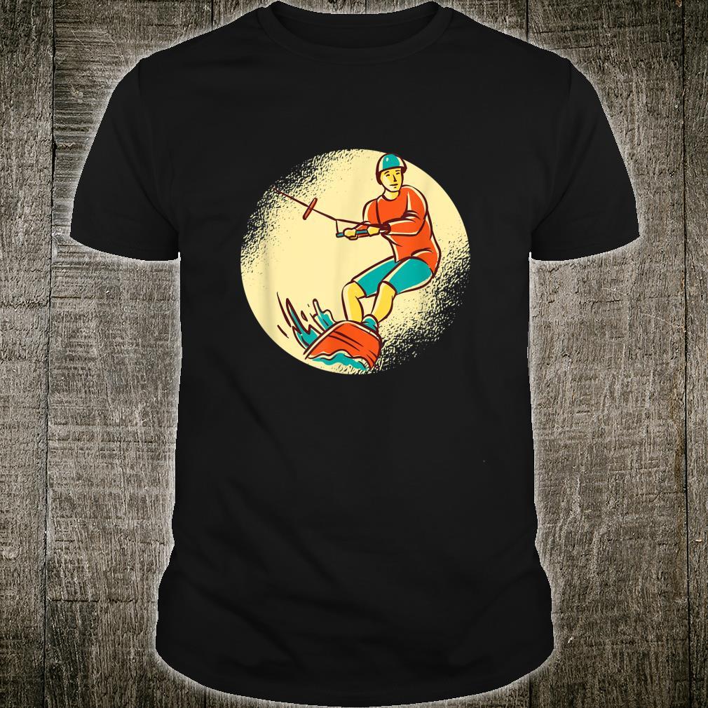 Wakeboard Wakeboarder Surfen Skifahren Wasserski Geschenk Shirt