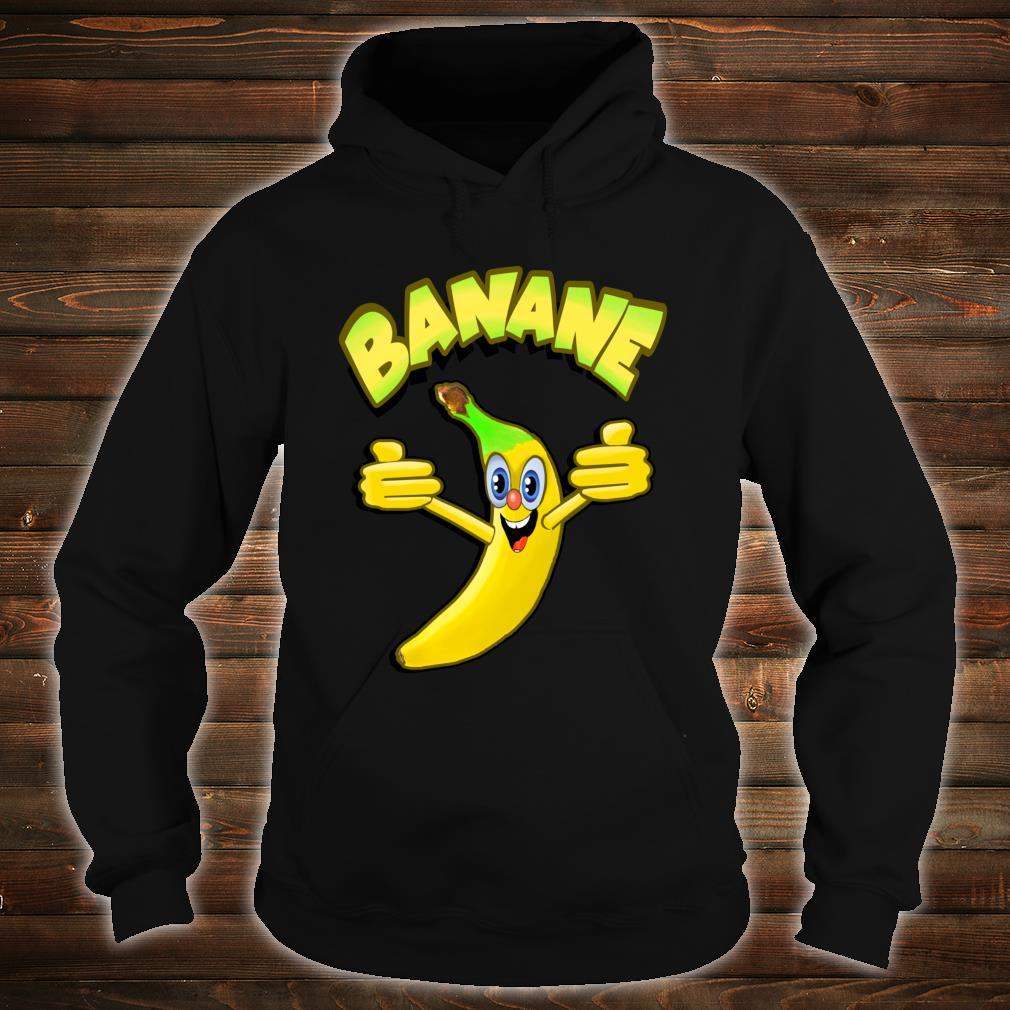 Witzige Banane Shirt hoodie
