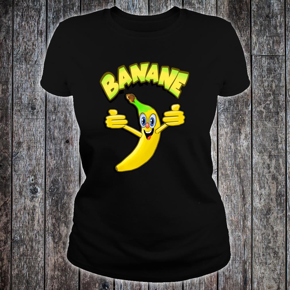 Witzige Banane Shirt ladies tee