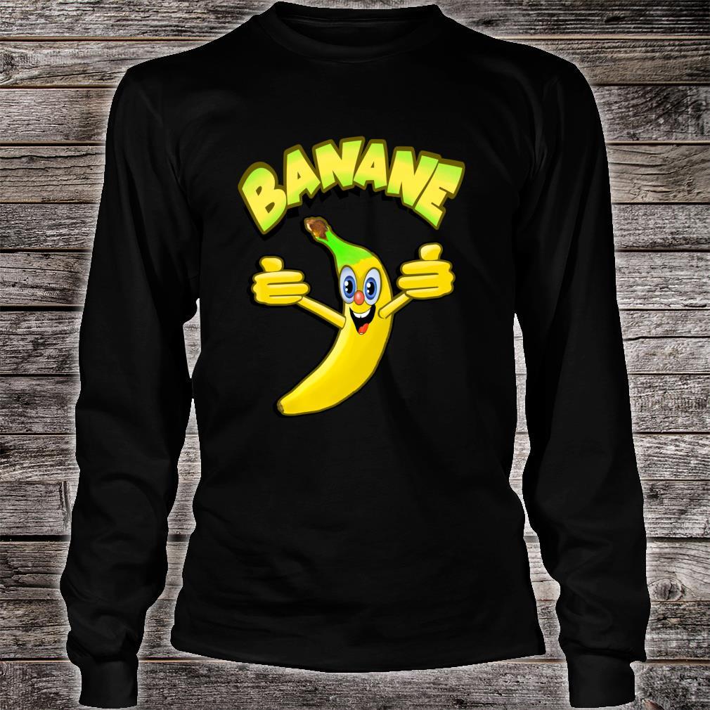 Witzige Banane Shirt long sleeved