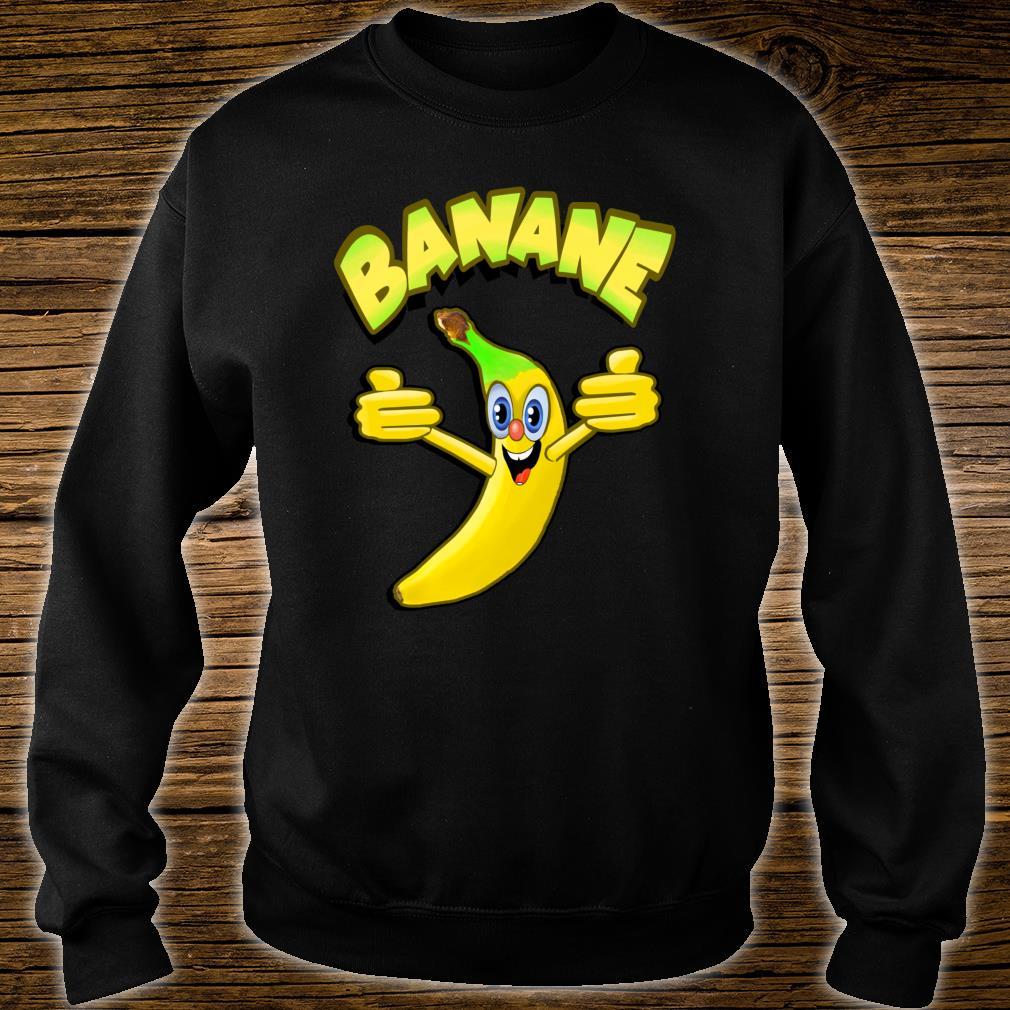 Witzige Banane Shirt sweater